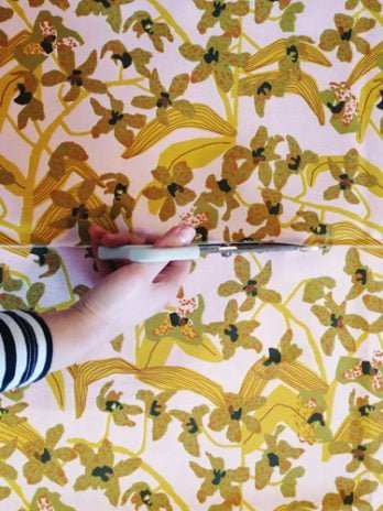 Daphne (Mustard) Fabric