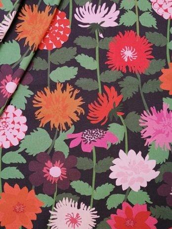 Darling Dahlias Fabric