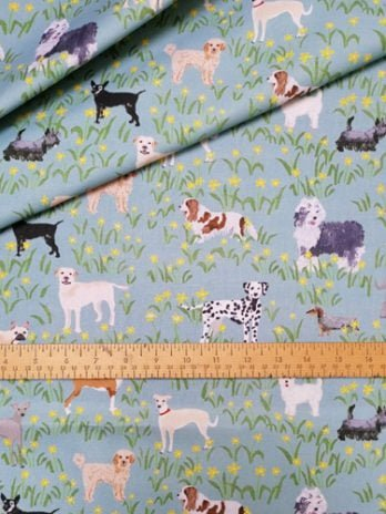 Paws For Thought Fabric