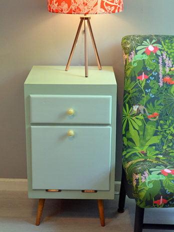 Mid Century Modern Bedside Cabinet