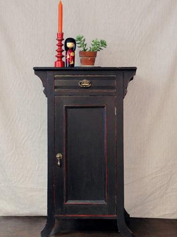 Oriental Style Bedside Cabinet