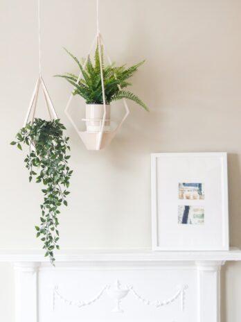Diamond 50cm Hanging Planter – Nick James