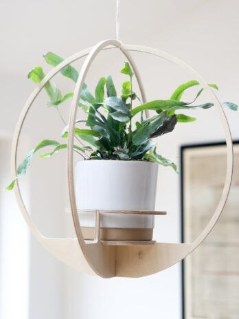 Circle 40cm Hanging Planter – Nick James