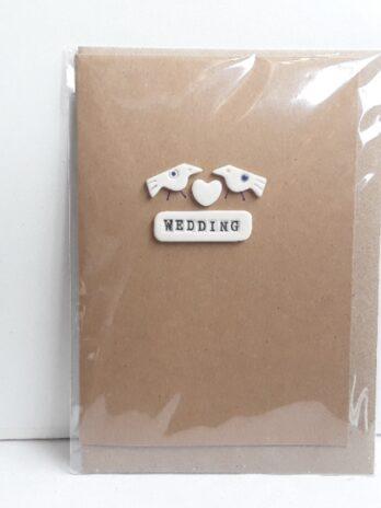 Wedding Card – 2 Birds 1 Heart