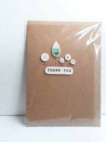 Thank You Card – Tree Scene