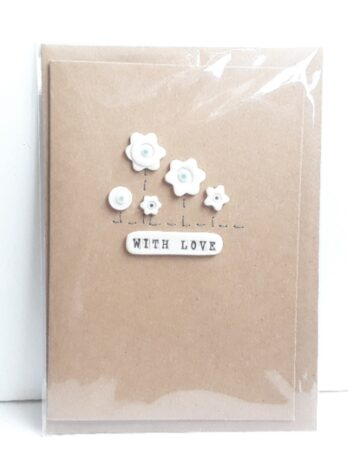 With Love Card – Flower Hedge
