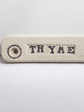 Rhian Winslade Thyme Plant Tag