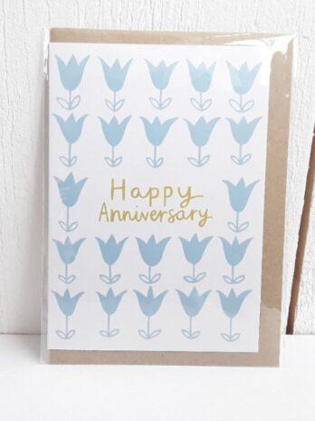 Happy Anniversary Tulip Card