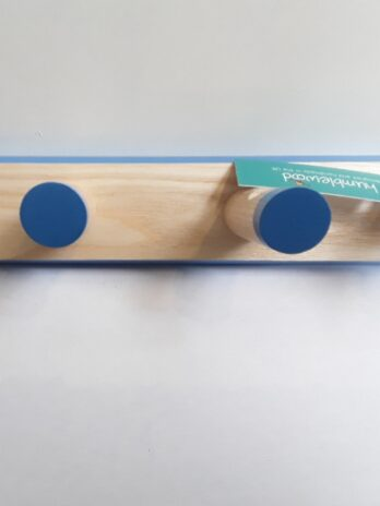 Peg Rack (5 Pegs) Blue