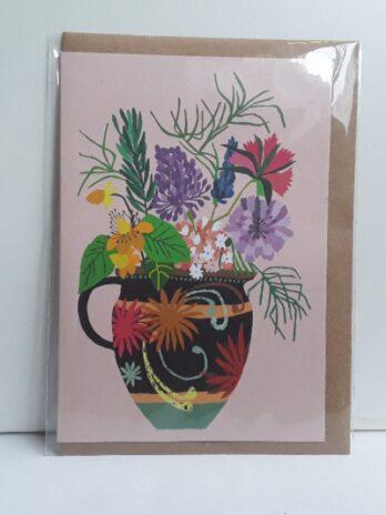 Gardener's Vase Card