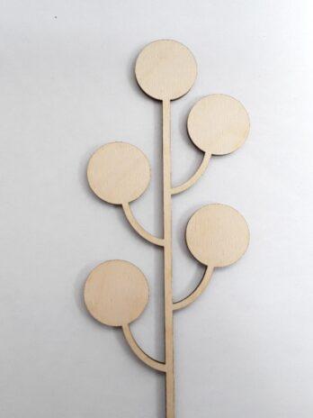 Seedhead 4 Wooden Decor – Nick James
