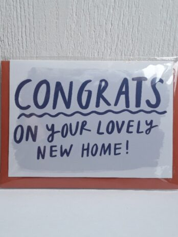 Congrats On Your Love Home Greetings Card