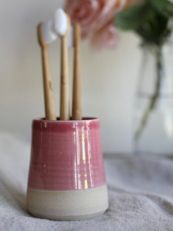 Glosters – Toothbrush Holder – Pink