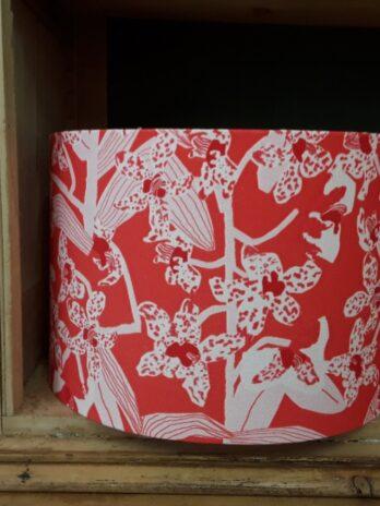 Lampshade Daphne Crimson Ceiling