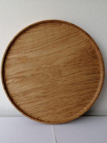 Nick James Oak Plate – 30cm