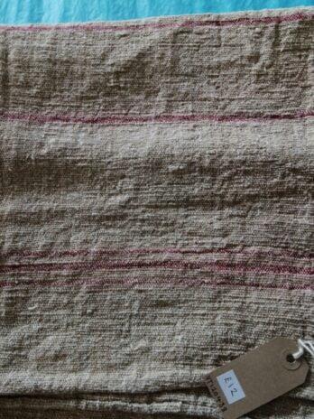 Heavy Rustic Fabric Red Woven Design – 60cm X 66cm