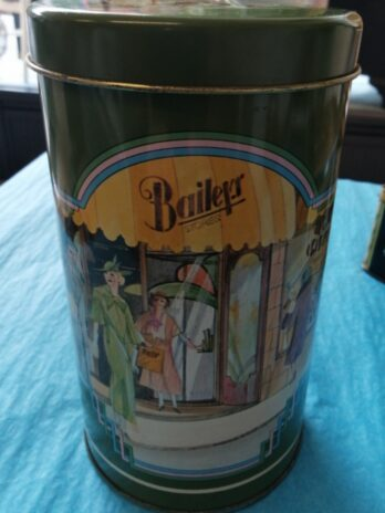 Bailey's Stores Vintage Tin