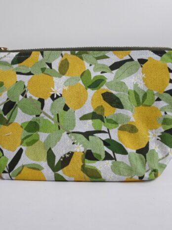 Sweet Lemon Make Up Bag