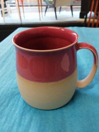 Glosters – Stoneware Mug Rose Pink