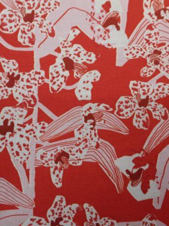 Daphne Crimson Fabric
