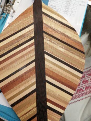 Berg & Bloomfield – Lime Medium Leaf Board