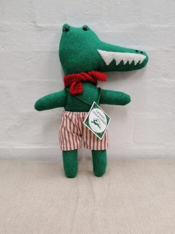 Carmel Creatures – Norman the Christmas Crocodile