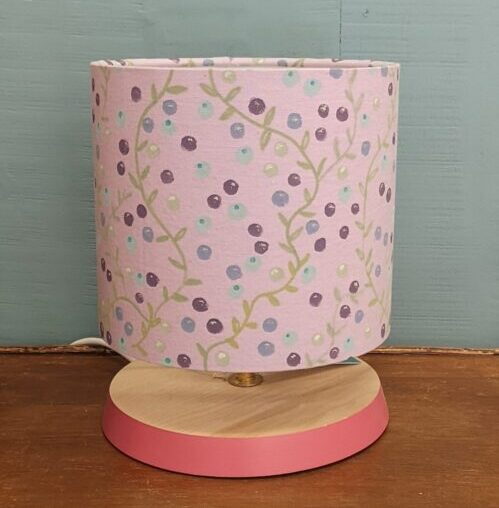 Read more about the article Painted Fabric Lampshade Workshop