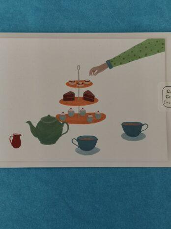 Afternoon Tea card – Katie Whittaker