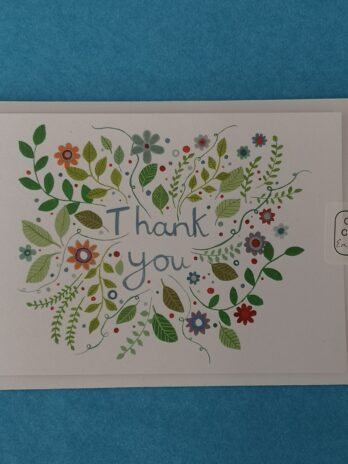Thank you Card – Katie Whittaker