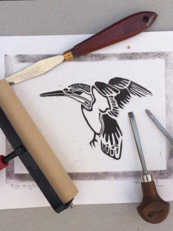 Beginners Linocut Print Workshop – Saturday 7th August