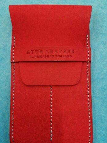 Atur Leather Pen Case – Red