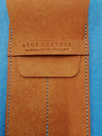 Atur Leather Pen Case – Yellow