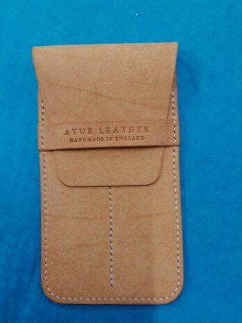 Atur Leather Pen Case – Natural
