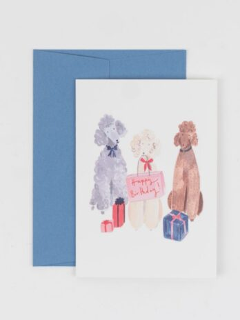 Party Pupper Happy Birthday Card – Peggy & Kate
