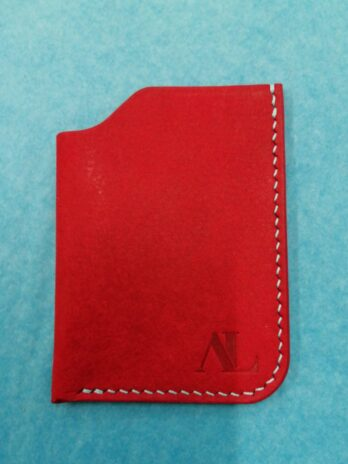 Atur Leather Card Sleeve – Red