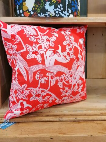 Daphne Red Cushion – Square