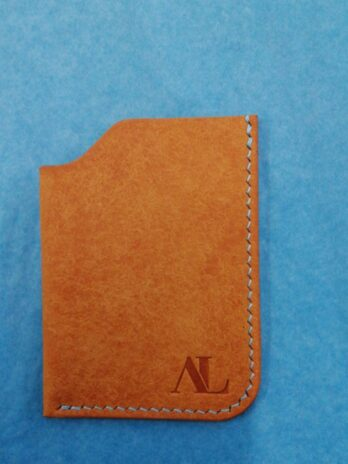Atur Leather Card Sleeve – Yellow