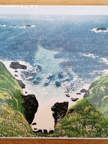 Coastal Cove, Pendeen – Hazel McNab