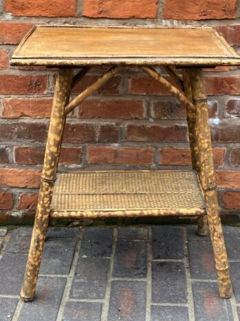 Rattan & Bamboo Occasional Table