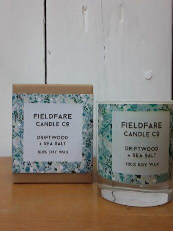 Candle – Driftwood & Sea Salt 160g